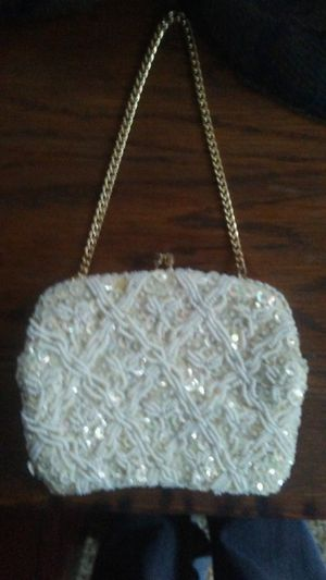 Beaded old purse