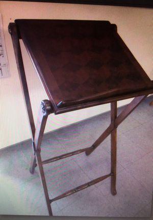 Lectern podium, mahogany
