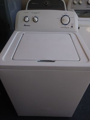 AMANA WASHER GOOD CONDITION 3 MONTHS WARRANTY FREE DELIVERY