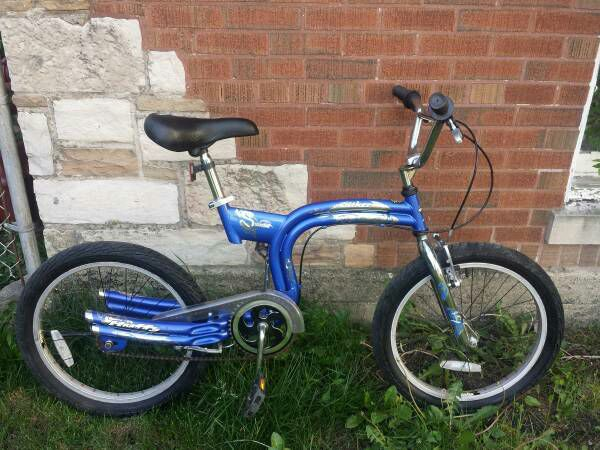Rare And Classic Huffy Slither S Frame Bmx Bicycles In Chicago