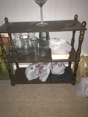 3 Shelf Table