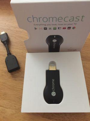 Chrome cast streaming device