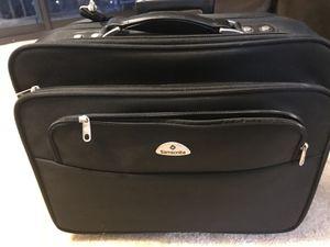 Samsonite Rolling Laptop Case Mobile Office- excellent condition