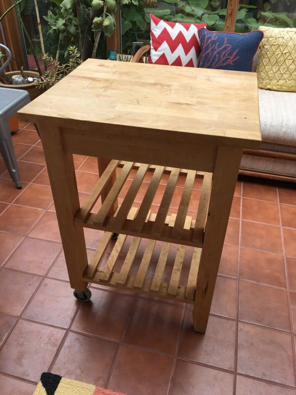 butcher block portable furniture in seattle wa offerup