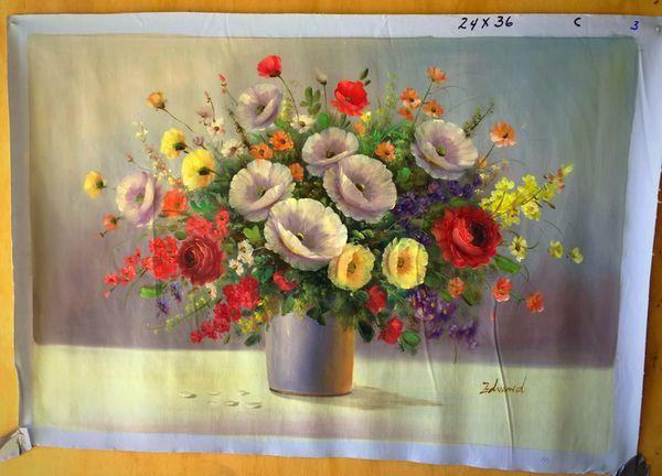 Oil painting 24x36 standard frame size on silk canvas arts crafts oil painting 24x36 standard frame size on silk canvas mightylinksfo