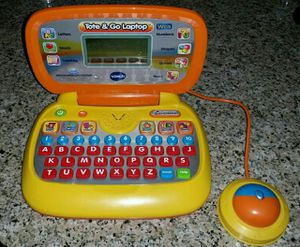 Vtech Tote and Go Laptop With WEB