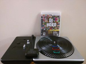 DJ Hero turntable with Game for PlayStation 2&3