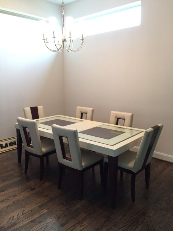 7 piece dining set - sofia vergara - savona (rooms to go