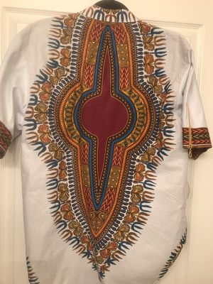 Ghana hand made dashiki men large