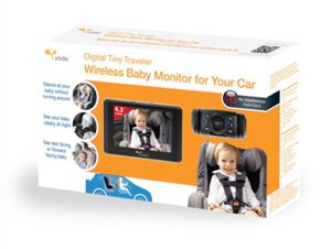 Yada® Digital Tiny Traveler™ Video Monitor Yada