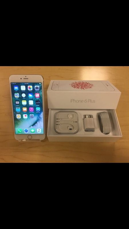 Apple iPhone 6 Plus Factory Unlocked - Comes w/ Box + Accessories