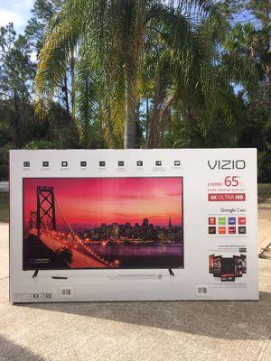 """VIZIO - 65"""" Class (64.5"""" Diag.) - LED - 2160p - Smart - 4K Ultra HD Home Theater Display (E65-E1)"""