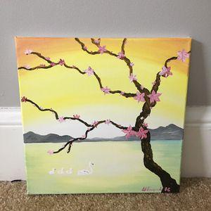Acrylic painting on canvas 12x12