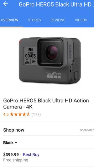 Used, Ultra HD action camera brand new UN used in box for sale  Tulsa, OK