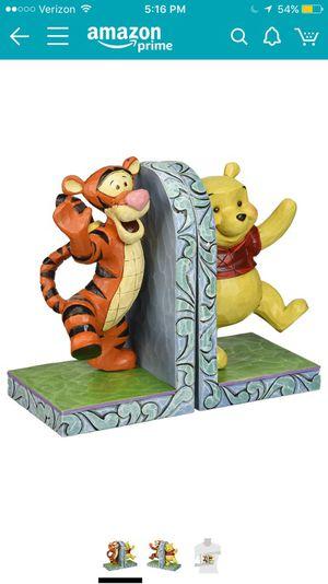 NIB Pooh and Tigger Book Ends