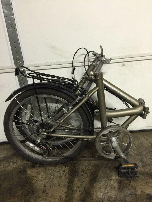 Adventurer 6 Speed Folding Bike Bicycles In Kent Wa