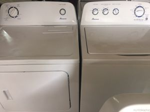 Amana Washer And Dryer Set