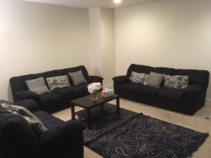 Three sofas in a very good condition