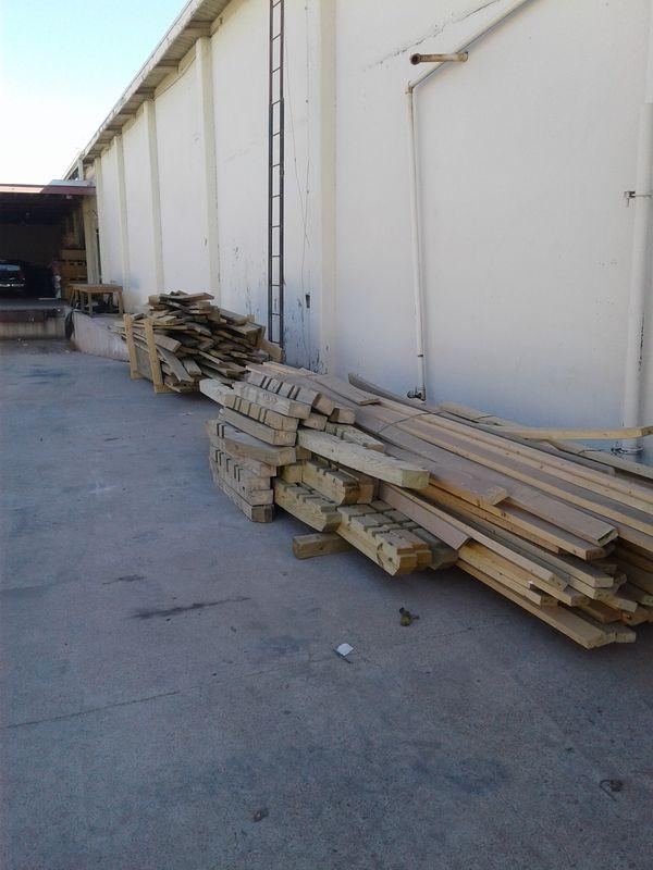 Wood Stacks Aisle