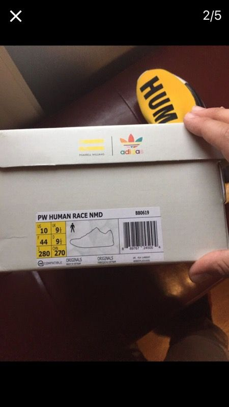 Adidas PW Human Race NMD Friends and Family BB 0621 Size 8.5
