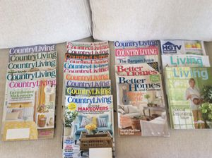 Home and decorating magazines 25 plus issues
