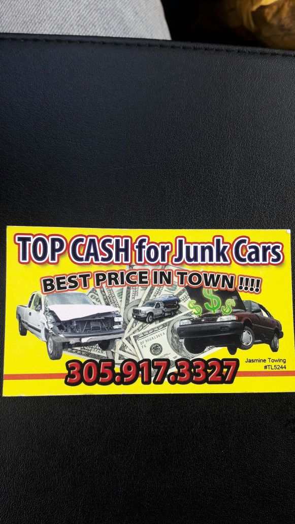 TOWING SERVICES AND BUY JUNK CARS pay top money (Auto Parts) in Opa ...