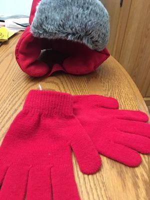 Kids hat/ gloves set
