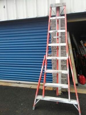 8 foot tripod ladder fiber glass 115