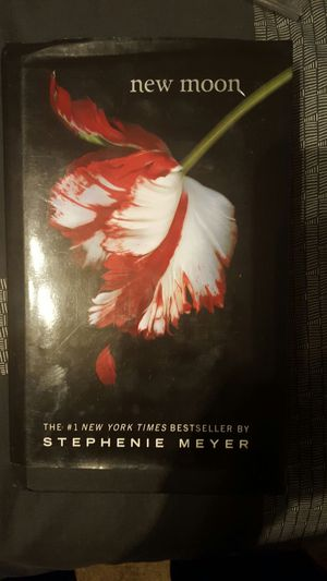 New Moon Book Cover Flower