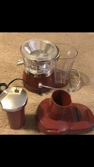 Fusion juicer brand new, check out my other items on this app text me for more information gaithersburg Maryland 20877