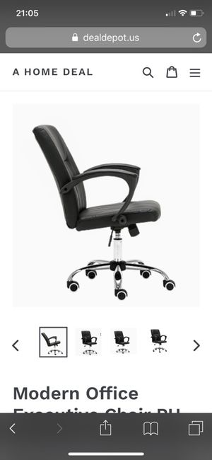 Computer chair office leather PU