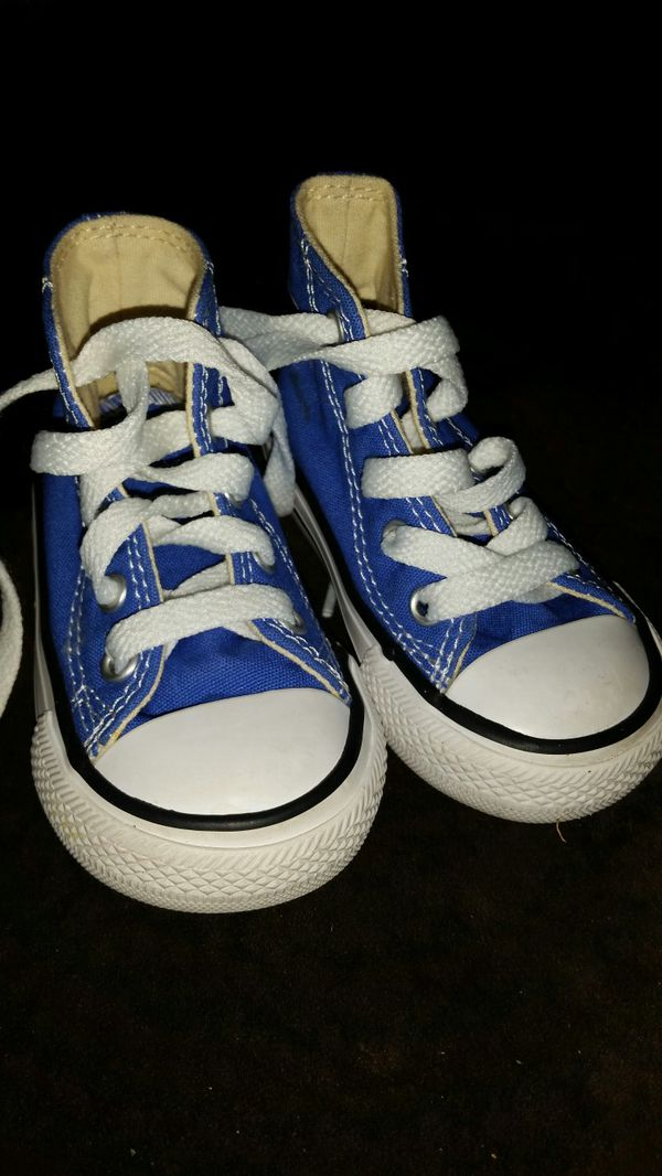 70159155ce0f Blue converse toddler size 4 (Baby   Kids) in Rochester
