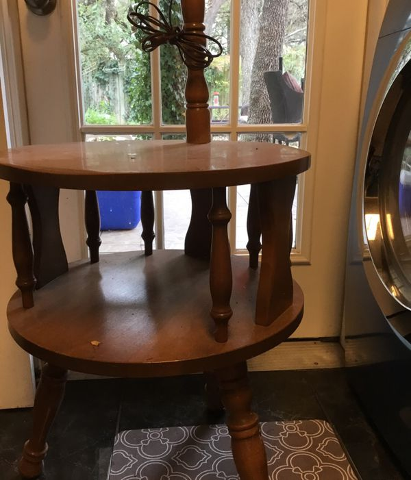 VINTAGE 50 YEAR OLD READING TABLE Antiques In San Antonio TX