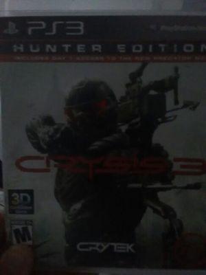 ps3 crysis 3 hunters edition