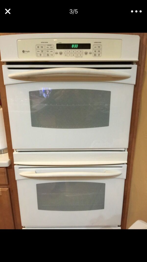 Kitchen appliances all Microwave, double oven, cooktop. GE brand ...