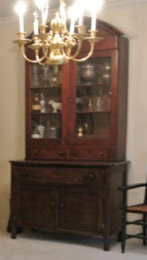 primitive hutch - Antique Cabinets