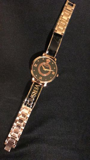Rose Gold Versace Analog Watch