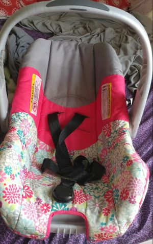 Baby girl car seat with base