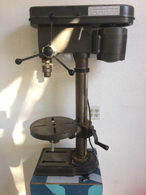 Guardian power five speed heavy duty drill press (General ...