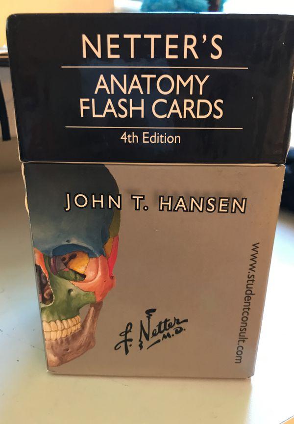 Netters Anatomy Flashcards Books Magazines In New Britain Ct