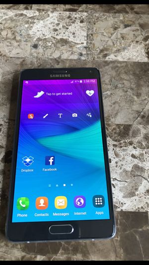 Galaxy not 4 - 32gb unlocked