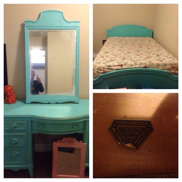 Antique bedroom set 75 for all furniture in san for Bedroom furniture 94109
