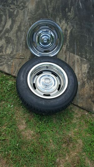$1,200 for four complete Wheels with two new tires on it or best offer