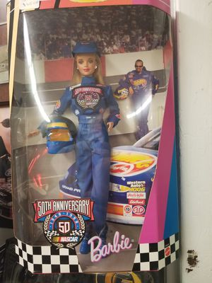 Nascar Barbie 50th Anniversary