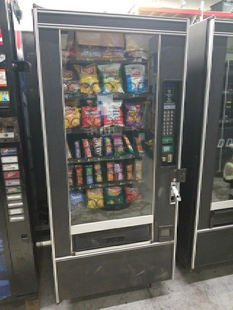 Snack vending machine fully working best deal