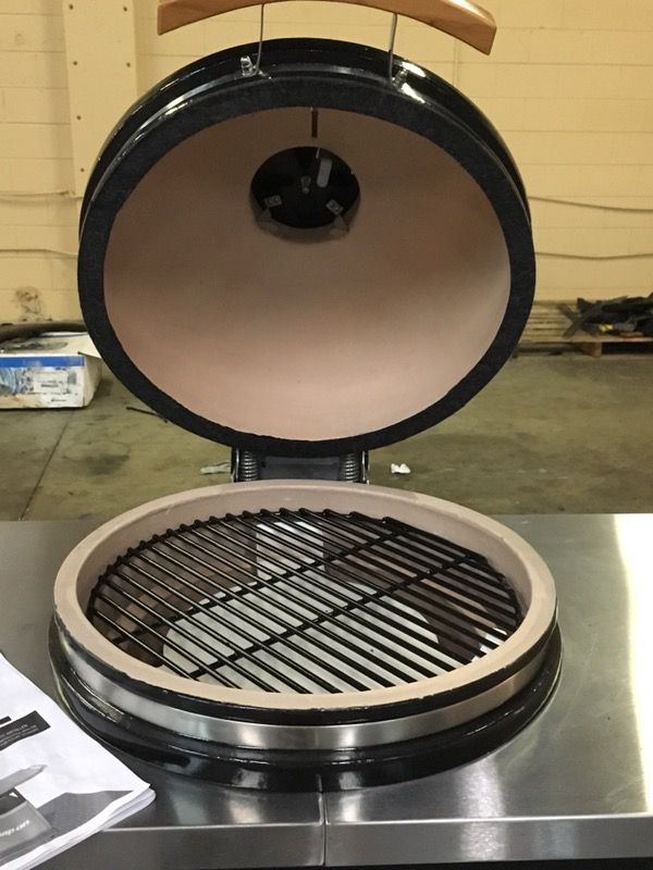 Snap On Ceramic Charcoal Smoker And Grill Ssx15p104