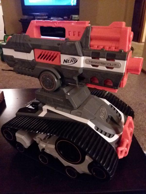 Nerf tank