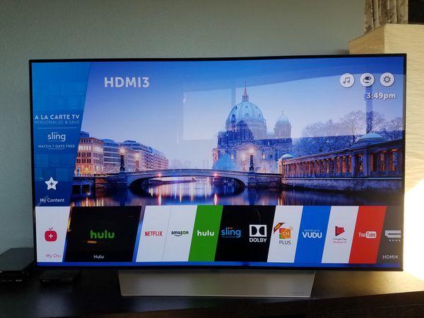 lg c7 oled 4k hdr smart tv 55 class tvs in bellingham wa. Black Bedroom Furniture Sets. Home Design Ideas