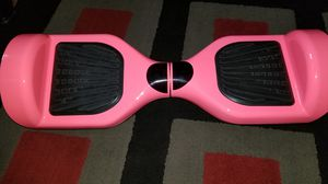Hot pink hover board
