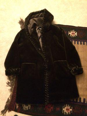 Women's Marvin Richards Faux Fur Size XL Dark Brown